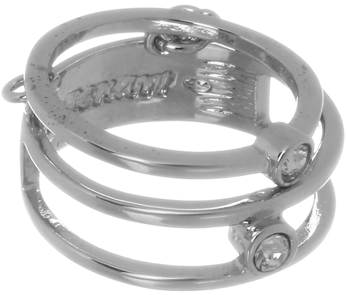 Кольцо Jenavi Триада. Ваю, цвет: серебряный, белый. f698f000. Размер 19Коктейльное кольцоИзящное кольцо Jenavi из коллекции Триада. Ваю изготовлено из ювелирного сплава с покрытием из серебрения с родием. Изделие выполнено в необычном дизайне и дополнено вставками из кристаллов Swarovski. Стильное кольцо придаст вашему образу изюминку, подчеркнет индивидуальность.