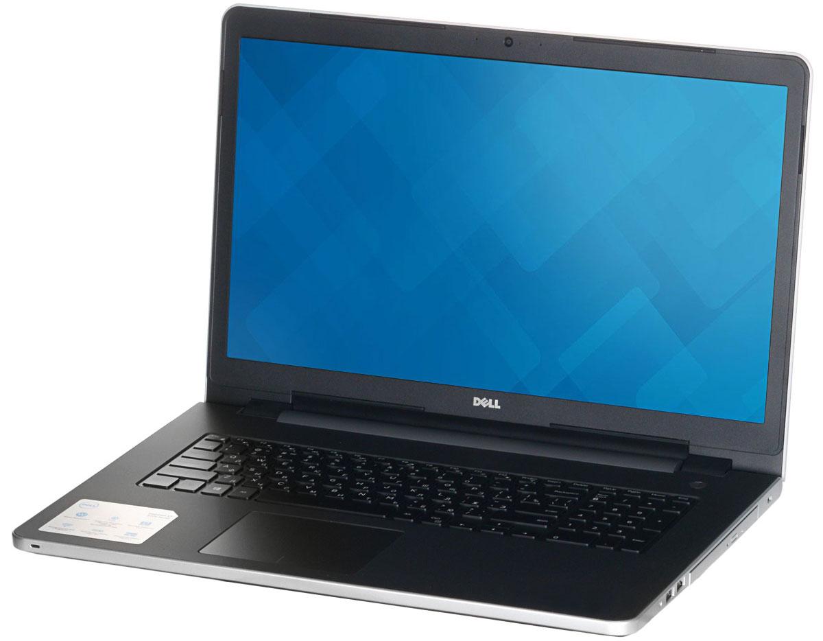 Dell Inspiron 5758 (8962), Silver5758-8962Новый уровень развлечений и производительности благодаря 17,3-дюймовому ноутбуку Dell Inspiron 5758 со стильным, привлекательным дизайном, который объединяет в себе мощность настольного компьютера и яркий экран с разрешением HD+. Ноутбук работает под управлением операционной системы Windows 10 Home.Замените настольный компьютер на стильный ноутбук, обладающий функциями для повышения производительности, которые обеспечивают кинематографическое качество воспроизведения мультимедийных материалов. Ноутбук Dell Inspiron 5758 в корпусе из полированного алюминия оснащен процессором Intel, встроенным дисководом, полноразмерным портом HDMI, USB 3.0 и устройством считывания карт памяти SD. Новый дизайн тоньше и легче, чем у предыдущих версий, поэтому компьютер проще переносить из комнаты в комнату. Жесткий диск позволяет хранить ваши файлы под рукой благодаря емкости системы хранения до 500 ГБ. Оцените яркие изображения на 17-дюймовом дисплее нового ноутбука Inspiron - широкий экран с диагональю 17,3 дюйма создает полный эффект присутствия. Чем бы вы ни занимались - микшированием, прослушиванием потокового аудио или общением, - технология Waves MaxxAudio обеспечивает более низкие басы, более высокие верхние ноты и фантастическое качество звучания.С помощью цифровой клавиатуры вы сможете эффективно работать с электронными таблицами, а большая сенсорная панель позволяет быстрее масштабировать и прокручивать содержимое, а также наводить на него указатель мыши.Точные характеристики зависят от модификации.Ноутбук сертифицирован EAC и имеет русифицированную клавиатуру и Руководство пользователя.