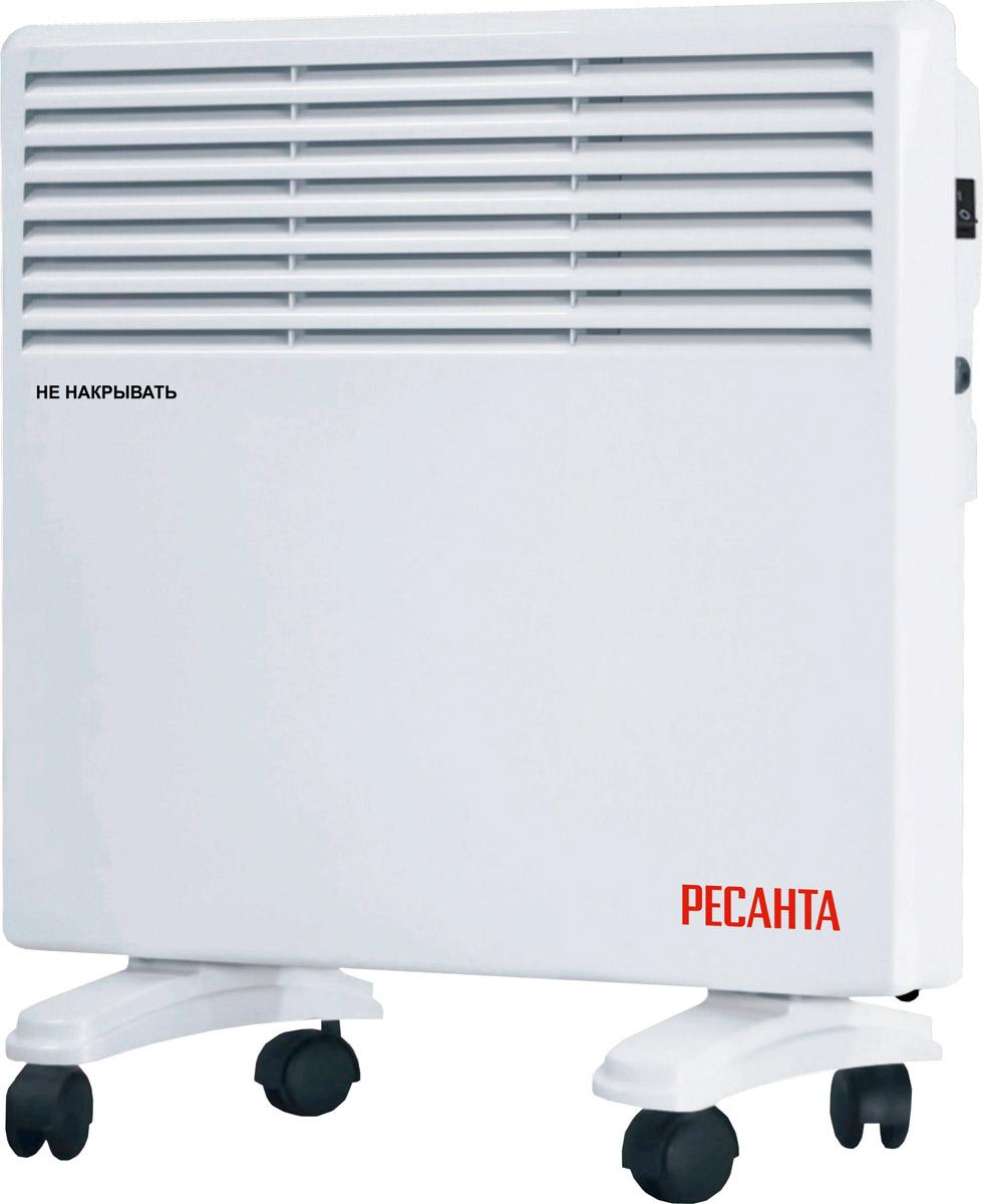 Ресанта ОК-1000Е (LED) конвектор67/4/12Электрический конвектор Ресанта ОК-1000Е - оптимальный вариант для помещений с площадью 10-12 кв.м.. Установка послойно нагревает воздух, поэтому сама она не перегревается, не сжигает пыль и кислород, и не сушит воздух. Возможно использование дувух режимов работы, а LED-дисплей позволит установить настройки с высокой точностью. Функция антизамерзания позволит автоматически включать ОК-1000Е при понижении температуры ниже +5С. Также конвектор безопасен: он влагозащищен, имеет функцию отключения при перегреве.