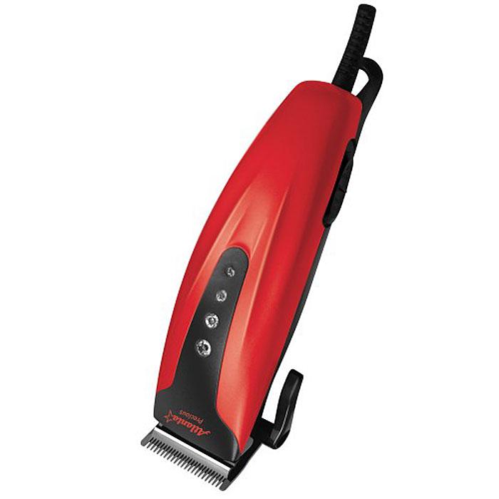 Atlanta ATH-6882, Red машинка для стрижкиATH-6882Машинка для стрижки Atlanta ATH-6882 поможет вам в домашних условиях легко ухаживать за волосами. Она оснащена четырьмя насадками, при помощи которых можно регулировать длину стрижки волос. Самозатачивающиеся режущие лезвия выполнены из высококачественной нержавеющей стали. Также конструкцией предусмотрена петля для подвешивания прибора на крючок.