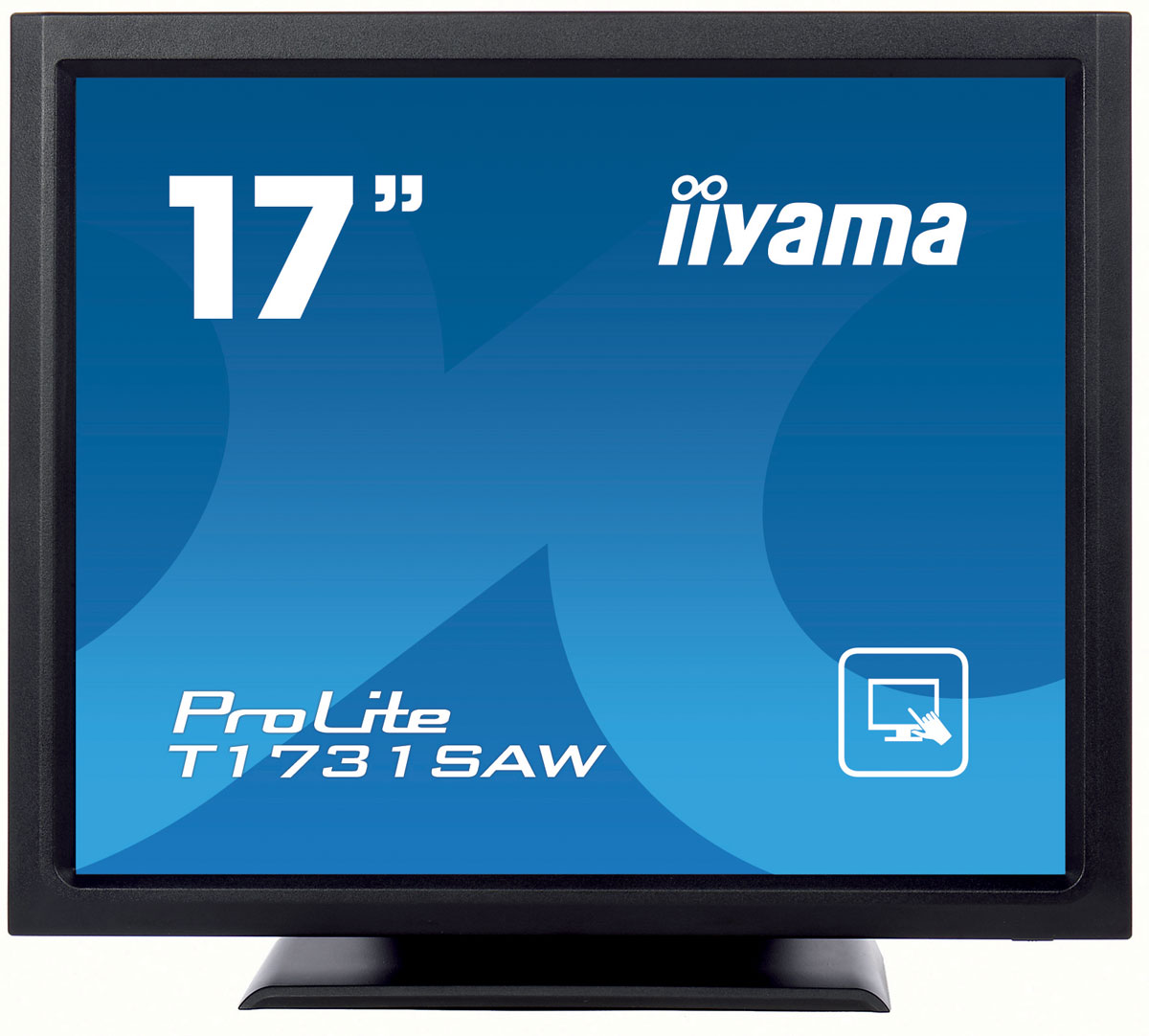 iiyama T1731SAW-B1A, Black монитор