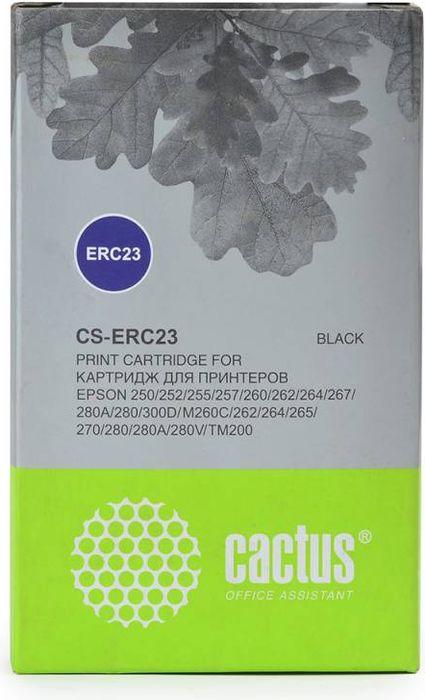 Cactus CS-ERC23, Black картридж ленточный для Epson ERC 23