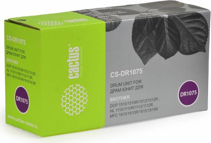 Cactus CS-DR1075 фотобарабан для Brother HL-1110/1112/1510/1512/1810/1815CS-DR1075Фотобарабан Cactus CS-DR1075 для лазерных принтеров Brother.Расходные материалы Cactus для печати максимизируют характеристики принтера. Обеспечивают повышенную четкость цветов и плавность переходов оттенков и полутонов, позволяют отображать мельчайшие детали изображения. Обеспечивают надежное качество печати.
