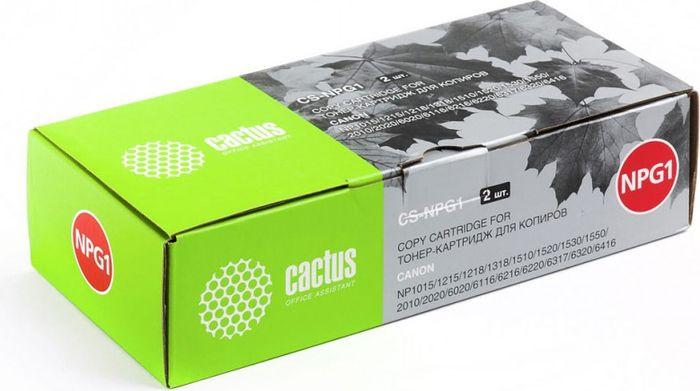 Cactus CS-NPG1, Black тонер-картридж для Canon NP1015/1215/1218/1318/1510/1520/1530/1550/2010/2020/6020/6116/6216/6220/6317/6320/6416CS-NPG1Тонер-картридж Cactus CS-NPG1 для лазерных принтеров Canon NP1015/1215/1218/1318/1510/1520/1530/1550/2010/2020/6020/6116/6216/6220/6317/6320/6416.Расходные материалы Cactus для лазерной печати максимизируют характеристики принтера. Обеспечивают повышенную чёткость чёрного текста и плавность переходов оттенков серого цвета и полутонов, позволяют отображать мельчайшие детали изображения. Гарантируют надежное качество печати.