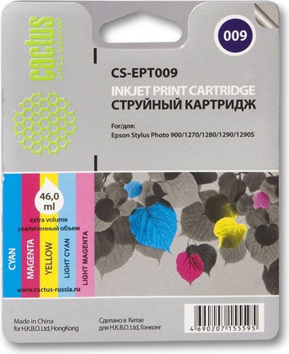Cactus CS-EPT009, Color картридж струйный для Epson Stylus Photo 1270/1290