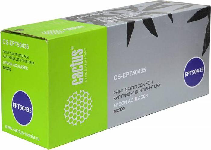 Cactus CS-EPT50435, Black тонер-картридж для Epson AL M2000CS-EPT50435Тонер-картридж Cactus CS-EPT50435 для лазерных принтеров Epson AL M2000.Расходные материалы Cactus для лазерной печати максимизируют характеристики принтера. Обеспечивают повышенную чёткость чёрного текста и плавность переходов оттенков серого цвета и полутонов, позволяют отображать мельчайшие детали изображения. Гарантируют надежное качество печати.