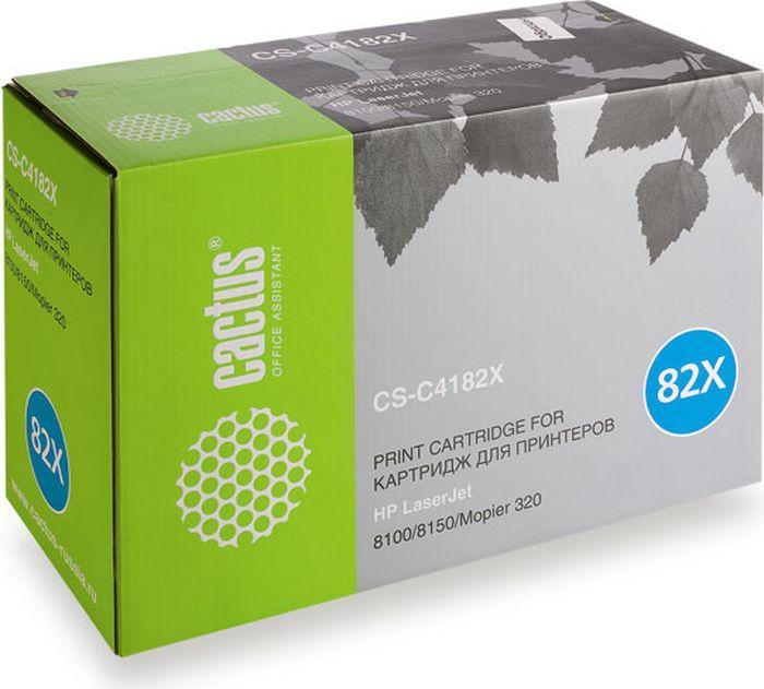 Cactus CS-C4182X, Black тонер-картридж для HP LJ 8100/8150/Mopier 320CS-C4182XТонер-картридж Cactus CS-C4182X для лазерных принтеров HP LJ 8100/8150/Mopier 320.Расходные материалы Cactus для лазерной печати максимизируют характеристики принтера. Обеспечивают повышенную чёткость чёрного текста и плавность переходов оттенков серого цвета и полутонов, позволяют отображать мельчайшие детали изображения. Гарантируют надежное качество печати.