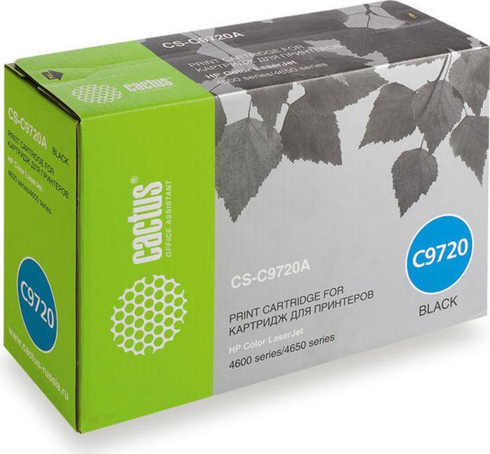 Cactus CS-C9720A, Black тонер-картридж для HP CLJ 4600/4650CS-C9720AТонер-картридж Cactus CS-C9720A для лазерных принтеров HP CLJ 4600/4650.Расходные материалы Cactus для лазерной печати максимизируют характеристики принтера. Обеспечивают повышенную чёткость чёрного текста и плавность переходов оттенков серого цвета и полутонов, позволяют отображать мельчайшие детали изображения. Гарантируют надежное качество печати.