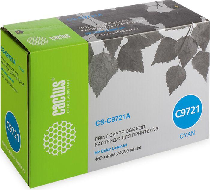 Cactus CS-C9721A, Cyan тонер-картридж для HP CLJ 4600/4650CS-C9721AТонер-картридж Cactus CS-C9721A для лазерных принтеров HP CLJ 4600/4650.Расходные материалы Cactus для лазерной печати максимизируют характеристики принтера. Обеспечивают повышенную чёткость чёрного текста и плавность переходов оттенков серого цвета и полутонов, позволяют отображать мельчайшие детали изображения. Гарантируют надежное качество печати.