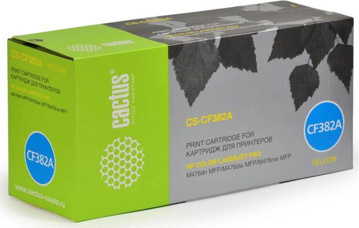 Cactus CS-CF382A, Yellow тонер-картридж для HP LJ Pro M476dn/M476nw/M476dwCS-CF382AТонер-картридж Cactus CS-CF382A для лазерных принтеров HP LJ Pro M476dn/M476nw/M476dw.Расходные материалы Cactus для лазерной печати максимизируют характеристики принтера. Обеспечивают повышенную чёткость чёрного текста и плавность переходов оттенков серого цвета и полутонов, позволяют отображать мельчайшие детали изображения. Гарантируют надежное качество печати.