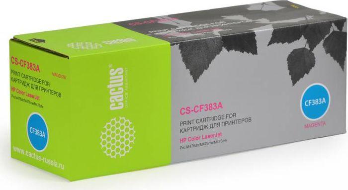 Cactus CS-CF383A, Magenta тонер-картридж для HP LJ Pro M476dn/M476nw/M476dwCS-CF383AТонер-картридж Cactus CS-CF383A для лазерных принтеров HP LJ Pro M476dn/M476nw/M476dw.Расходные материалы Cactus для лазерной печати максимизируют характеристики принтера. Обеспечивают повышенную чёткость чёрного текста и плавность переходов оттенков серого цвета и полутонов, позволяют отображать мельчайшие детали изображения. Гарантируют надежное качество печати.