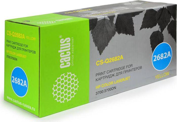 Cactus CS-Q2682A, Yellow тонер-картридж для HP CLJ 3700CS-Q2682AТонер-картридж Cactus CS-Q2682A для лазерных принтеров HP CLJ 3700.Расходные материалы Cactus для лазерной печати максимизируют характеристики принтера. Обеспечивают повышенную чёткость чёрного текста и плавность переходов оттенков серого цвета и полутонов, позволяют отображать мельчайшие детали изображения. Гарантируют надежное качество печати.