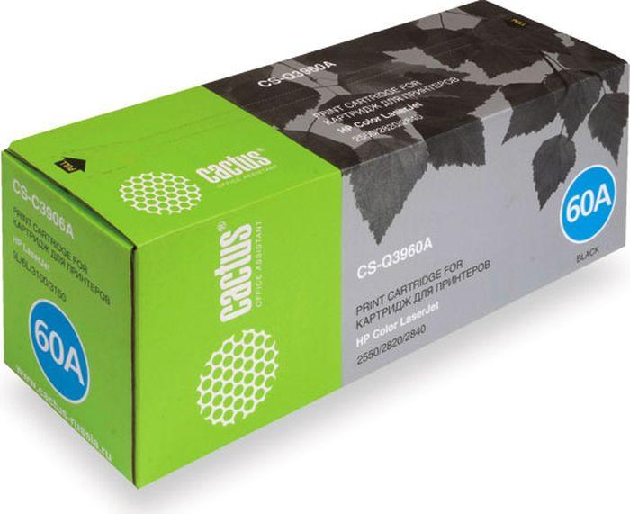 Cactus CS-Q3960A, Black тонер-картридж для HP LJ 2550/2550L/2550LN/2550NCS-Q3960AТонер-картридж Cactus CS-Q3960A для лазерных принтеров HP LJ 2550/2550L/2550LN/2550N.Расходные материалы Cactus для лазерной печати максимизируют характеристики принтера. Обеспечивают повышенную чёткость чёрного текста и плавность переходов оттенков серого цвета и полутонов, позволяют отображать мельчайшие детали изображения. Гарантируют надежное качество печати.