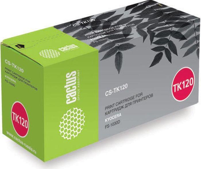 Cactus CS-TK120, Black тонер-картридж для Kyocera FS-1030DCS-TK120Тонер-картридж Cactus CS-TK120 для лазерных принтеров Kyocera FS-1030D.Расходные материалы Cactus для лазерной печати максимизируют характеристики принтера. Обеспечивают повышенную чёткость чёрного текста и плавность переходов оттенков серого цвета и полутонов, позволяют отображать мельчайшие детали изображения. Гарантируют надежное качество печати.