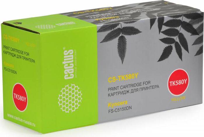 Cactus CS-TK580Y, Yellow тонер-картридж для Kyocera FS-C5150DN/P6021 EcosysCS-TK580YТонер-картридж Cactus CS-TK580Y для лазерных принтеров Kyocera FS-C5150DN/P6021 Ecosys.Расходные материалы Cactus для лазерной печати максимизируют характеристики принтера. Обеспечивают повышенную чёткость чёрного текста и плавность переходов оттенков серого цвета и полутонов, позволяют отображать мельчайшие детали изображения. Гарантируют надежное качество печати.