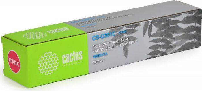 Cactus CS-O301C, Cyan тонер-картридж для Oki C301/321CS-O301CТонер-картридж Cactus CS-O301C для лазерных принтеров Oki C301/321.Расходные материалы Cactus для лазерной печати максимизируют характеристики принтера. Обеспечивают повышенную чёткость чёрного текста и плавность переходов оттенков серого цвета и полутонов, позволяют отображать мельчайшие детали изображения. Гарантируют надежное качество печати.