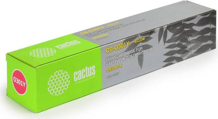 Cactus CS-O301Y, Yellow тонер-картридж для Oki C301/321CS-O301YТонер-картридж Cactus CS-O301Y для лазерных принтеров Oki C301/321.Расходные материалы Cactus для лазерной печати максимизируют характеристики принтера. Обеспечивают повышенную чёткость чёрного текста и плавность переходов оттенков серого цвета и полутонов, позволяют отображать мельчайшие детали изображения. Гарантируют надежное качество печати.