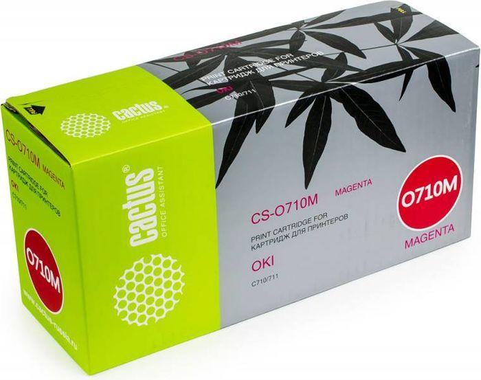 Cactus CS-O710M, Magenta тонер-картридж для Oki C710/711CS-O710MТонер-картридж Cactus CS-O710M для лазерных принтеров Oki C710/711.Расходные материалы Cactus для лазерной печати максимизируют характеристики принтера. Обеспечивают повышенную чёткость чёрного текста и плавность переходов оттенков серого цвета и полутонов, позволяют отображать мельчайшие детали изображения. Гарантируют надежное качество печати.