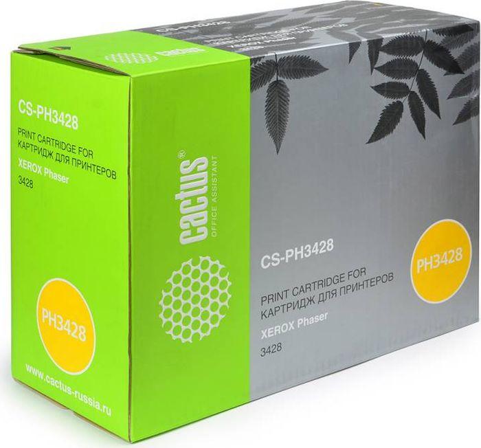 Cactus CS-PH3428 106R01245, Black тонер-картридж для Xerox Phaser 3428CS-PH3428Тонер-картридж Cactus CS-PH3428 106R01245 для лазерных принтеров Xerox Phaser 3428.Расходные материалы Cactus для лазерной печати максимизируют характеристики принтера. Обеспечивают повышенную чёткость чёрного текста и плавность переходов оттенков серого цвета и полутонов, позволяют отображать мельчайшие детали изображения. Гарантируют надежное качество печати.