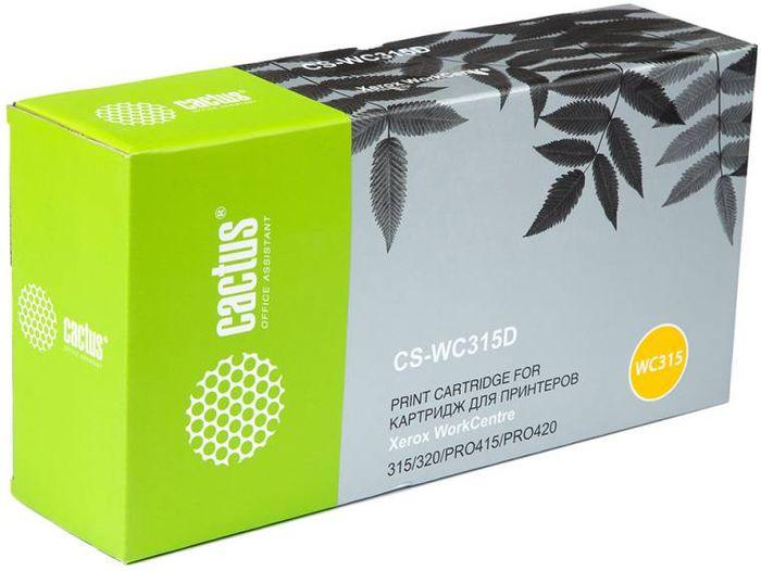 Cactus CS-WC315D 006R01044, Black тонер-картридж для Xerox WorkCentre 315/320/PRO415/PRO420CS-WC315DТонер-картридж Cactus CS-WC315D 006R01044 для лазерных принтеров Xerox WorkCentre 315/320/PRO415/PRO420.Расходные материалы Cactus для лазерной печати максимизируют характеристики принтера. Обеспечивают повышенную чёткость чёрного текста и плавность переходов оттенков серого цвета и полутонов, позволяют отображать мельчайшие детали изображения. Гарантируют надежное качество печати.