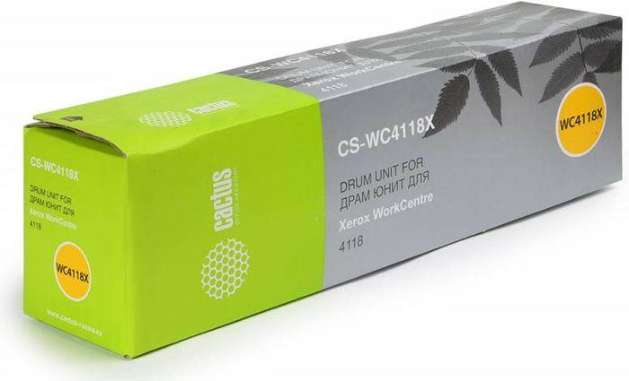 Cactus CS-WC4118X 113R00671 фотобарабан для Xerox WC 4118/M20/C20 /Drum UnitCS-WC4118XТонер-картридж Cactus CS-WC4118X 113R00671 для лазерных принтеров Xerox.Расходные материалы Cactus для лазерной печати максимизируют характеристики принтера. Обеспечивают повышенную чёткость чёрного текста и плавность переходов оттенков серого цвета и полутонов, позволяют отображать мельчайшие детали изображения. Гарантируют надежное качество печати.