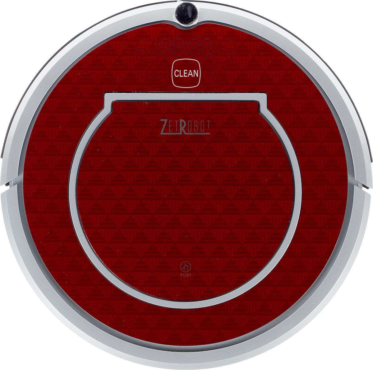 ZetRobot AH-RT, Silver Red робот-пылесос, цвет пандаAH-RT_Black Silver RedВысота ZetRobot AH-RT составляет всего 8,5 см, благодаря чему он может пройти под большинством шкафов и кроватей. Диаметр корпуса дает возможность протиснуться между близко расположенными препятствиями и убрать больше поверхности пола, чем другие пылесосы.Пылесос оснащен функциями автоматической и ручной уборки, локальной уборки и уборки по расписанию. Программа автоматической чистки позволяет устройству приступить к очистке вашей комнаты, и его движения можно изменить в зависимости от условий. Если прибор обнаружит сильное загрязнение пола, оно автоматически переключится в режим точечной уборки во вращающейся конфигурации.Ограничитель движения создает невидимый барьер, который ZetRobot AH-RT не пересекает. Он позволяет легко ограничить область работы в определенной комнате или помещении, а также предотвратить приближение устройства к хрупким или опасным предметам.В целях экономии электроэнергии ZetRobot AH-RT работает в одном режиме после перевода индикатора питания в положение ВКЛ. Если устройство долгое время не используется и не заряжается, оно переходит в спящий режим.Время уборки также можно запланировать с помощью режима планирования.Внимание! Во время зарядки нельзя открывать крышку робота, процесс зарядки прекращается.Если робот используется меньше, чем 1 раз в неделю, перед новым использованием необходимо зарядить его в течение 8 часов, чтобы активировать батарею.