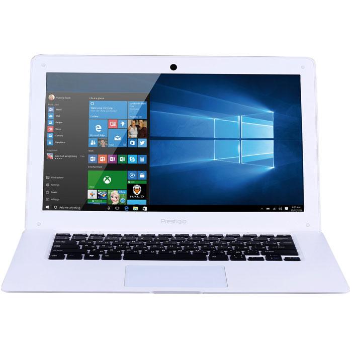 Prestigio SmartBook 141A03, WhitePSB141A03BFW_MW_CISPrestigio SmartBook 141A03 предназначен для скоростного Интернет-сёрфинга и бесперебойного доступа в облачные хранилища. Это полноценный ноутбук с экраном 14,1, полной версией ОС Windows и универсальным набором портов.С ультралёгким Smartbook 141A03 вы по достоинству оцените свободу перемещений. Вес около 1,5 килограмма сохранит осанку, а благодаря компактному размеру он поместится даже в дамской сумке.Windows 10 - это лучшая комбинация ОС Windows, которую вы когда-либо знали, плюс множество улучшений, которые вам понравятся. Интуитивно понятный интерфейс поможет быстрее и эффективнее справляться с задачами, улучшенная производительность позволит вам почувствовать новый уровень мощности, а благодаря дополнительным сервисам и приложениям каждая секунда с новым устройством будет полна комфорта и восхищения. Процессор Intel Atom обеспечит работу в режиме многозадачности, а 2 ГБ оперативной памяти будет достаточно для запуска даже самых требовательных приложений. Энергосберегающие технологии позволят использовать ноутбук до 7 часов в режиме видео и до 6 часов в режиме интернет-сёрфинга.Данная модель не нуждается в переходниках: универсальный набор портов позволяет организовать мобильный офис в считанные минуты. С помощью порта microHDMI и двух полноразмерных USB 2.0 вы без проблем подключите большой экран, мышь, принтер или сканер.Вместе с ноутбуком каждый владелец получает премиум-аккаунт в игре World of Tanks Blitz на 7 дней и премиум-танк Т-127. Таким образом, вы со старта будете иметь то, о чем мечтают миллионы пользователей, и сможете получить полноценное удовольствие от игры. Бонусный пакет начисляется один раз на новый игровой аккаунт, который первым вошел в игру с устройства Prestigio.Точные характеристики зависят от модификации.Ноутбук сертифицирован EAC и имеет русифицированную клавиатуру и Руководство пользователя.