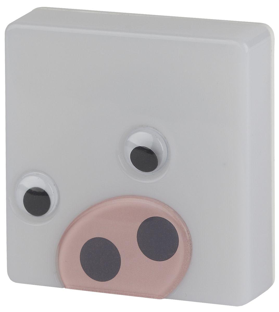Ночник ЭРА NN-631-LS-P, цвет: розовыйNN-631-LS-PНочник со светодиодами (LED) в качестве источников света.C сенсором (включается автоматически, когда становится темно).Со съемной насадкой с накладными элементами.Без насадки ночник можно использовать как обычный ночник нейтрального дизайна.Блистерная упаковка с открытой вилкой.