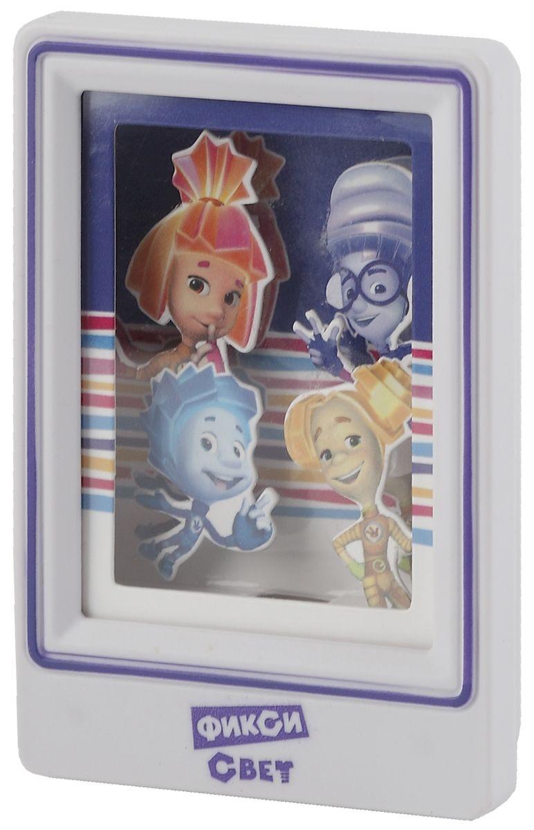 Ночник ЭРА Фиксики. NN-611-LS-V, цвет: фиолетовый ночник эра фиксики фиолетовый