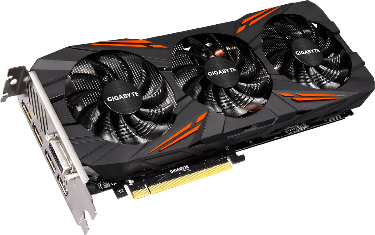 Gigabyte GeForce GTX 1070 G1 Gaming 8GB видеокарта
