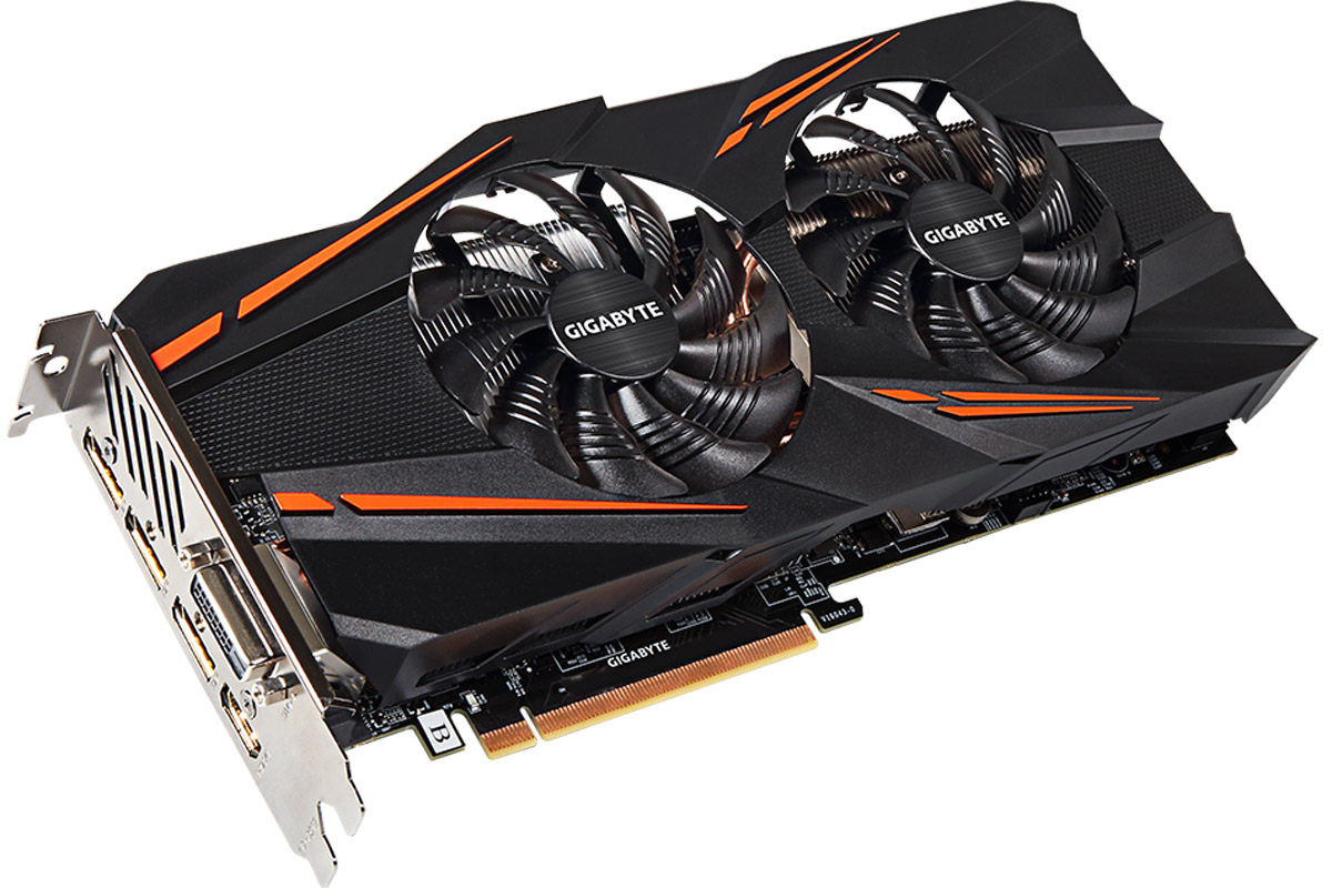 Gigabyte GeForce GTX 1070 Windforce OC 8GB видеокарта