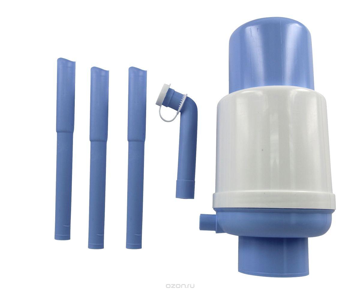 Ручной насос для воды МастерПрофИС.130916Помпа для воды, предназначена для розлива питьевой воды путем нажатия на верхнюю часть помпы (кнопку) вручную из стандартных бутылей. Насос рассчитан на бутылки объемом 11-19 л.
