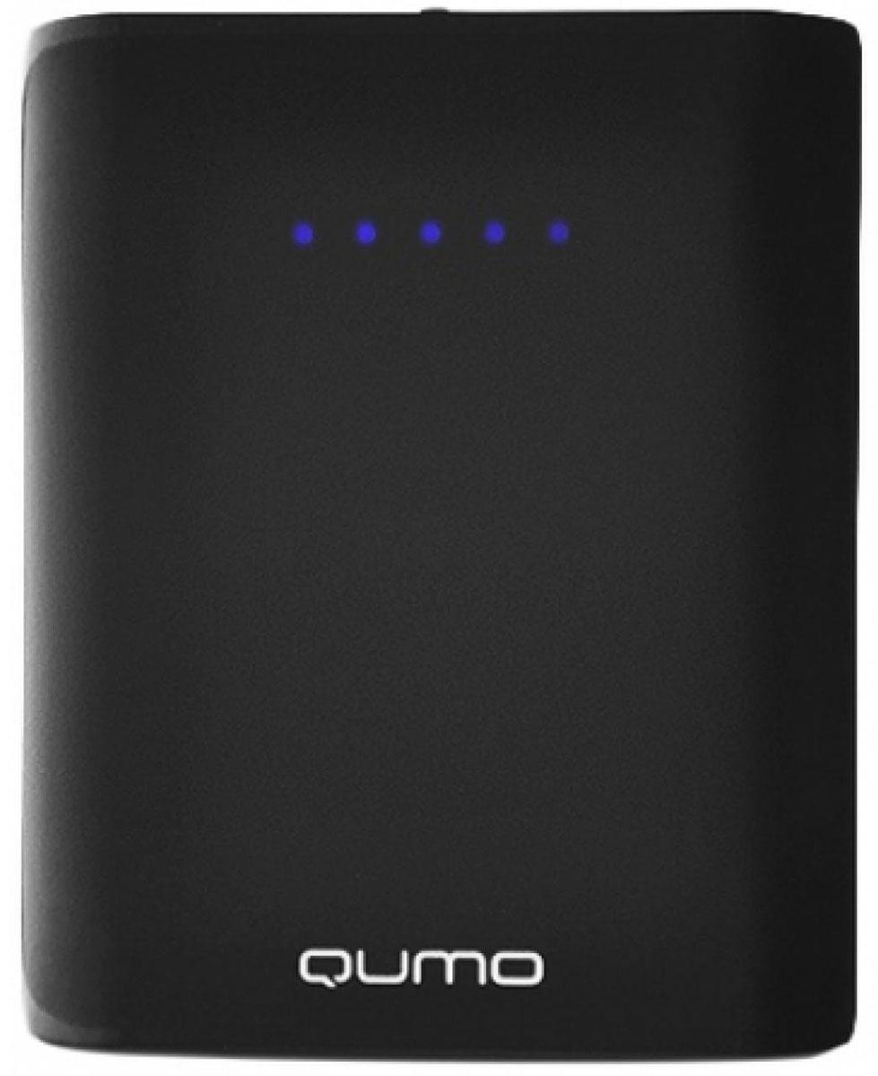 QUMO PowerAid 7800, Black внешний аккумулятор21099QUMO PowerAid 7800 - мобильный внешний аккумулятор, предназначенный для подзарядки таких устройств как телефон, плеер, планшет, цифровой камеры, электронная книга. Это устройство будет великолепным помощников в ситуации, когда вы находитесь вне дома, а у нужного устройства закончился заряд батареи. Данная модель имеет два USB - разъема, через которые будет происходить заряд необходимого устройства. На корпусе имеется световой индикатор, который будет сигнализировать о состояние заряда внешнего аккумулятора.