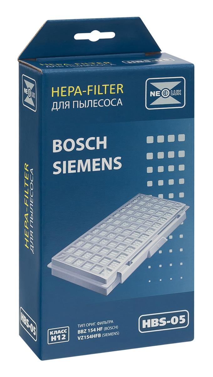 Neolux HBS-05 HEPA-фильтр для пылесоса BoschHBS-05HEPA фильтр Neolux HBS-05 предназначен для пылесосов Bosch, Siemens. Обладает высочайшей степенью фильтрации, задерживает 99,5% пыли. Предотвращает её попадание в механическую часть пылесоса, тем самым продлевая срок службы пылесоса и сохраняют чистоту воздуха.
