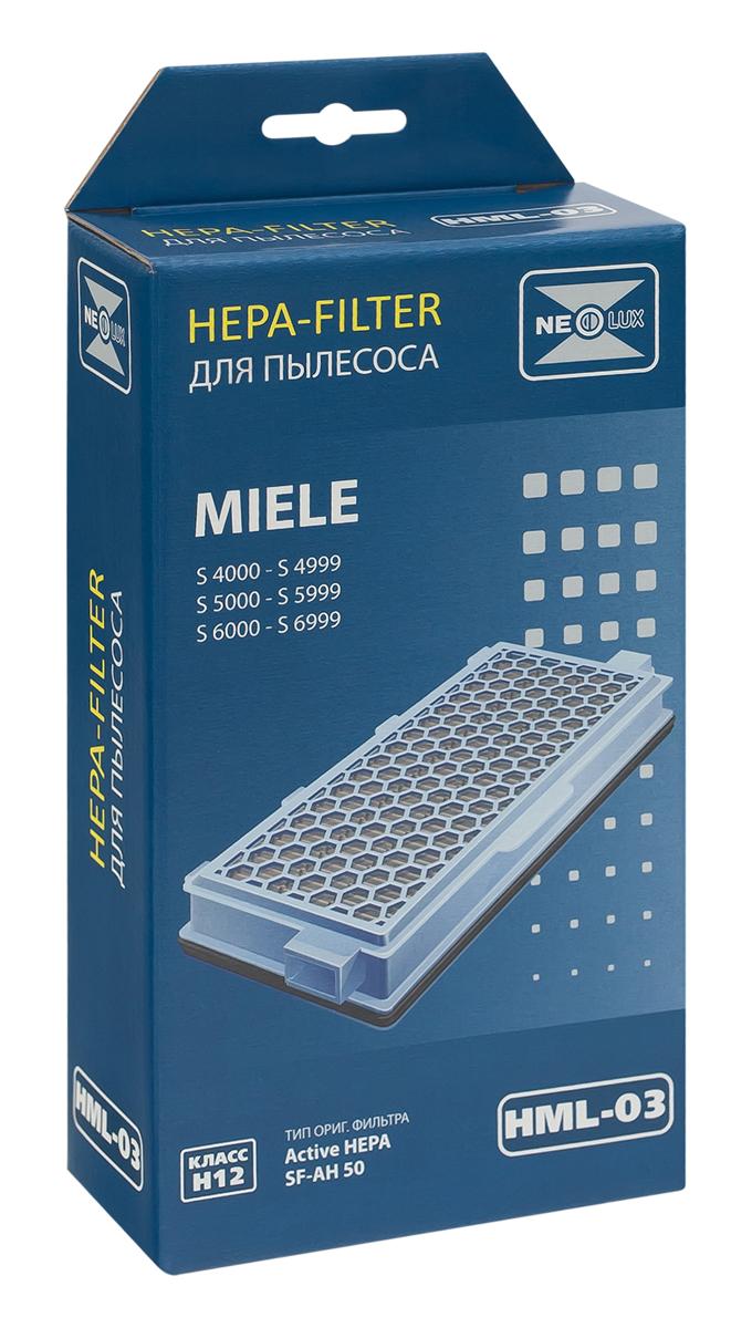 Neolux HML-03 HEPA-фильтр для пылесоса MieleHML-03HEPA фильтр Neolux HML-03 предназначен для пылесосов Miele. Отфильтровывает неприятные запахи благодаря специальному слою активированного угля, задерживает частицы, на которые реагируют аллергики.Уважаемые клиенты! Обращаем ваше внимание на возможные изменения в дизайне упаковки. Качественные характеристики товара остаются неизменными. Поставка осуществляется в зависимости от наличия на складе.