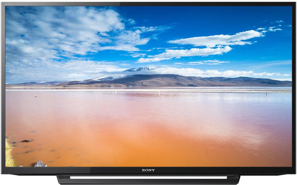 Sony KDL-40RD353, Black телевизорKDL40RD353BRSony KDL-40RD353 - современный телевизор с разрешением экрана Full HD и поддержкой Clear Resolution Enhancer, Motionflow, USB Multi Play, а такжеаудиотехнологией Clear Phase.Оцените мельчайшие детали и естественность текстур любого изображения, даже если на первый взгляд оно вам кажется невыразительным и однотонным. Перейдите от шумных изображений к тончайшим нюансам. Технология Clear Resolution Enhancer повышает разрешение изображений низкого качества до разрешения Full HD, уровень шума на изображении при этом не увеличивается. Это достигается за счет сокращения уровня шума перед масштабированием изображения до разрешения экрана телевизора. В результате вы получаете четкое изображение с повышенным контрастом, глубиной и большим количеством деталей.Доступ к вашему любимому цифровому контенту с носителя USB. Слушайте музыку, смотрите видеоролики и фотографии на большом экране телевизора благодаря поддержке большого числа форматов воспроизведения с USB. Благодаря широкой поддержке разнообразных кодеков вы получаете универсальные возможности воспроизведения контента — для этого достаточно просто подключить носитель.Телевизоры BRAVIA применяют мощный алгоритм для анализа и компенсации неточностей при воспроизведении звука через динамики телевизора. Это происходит путем создания высокоточного графика амплитудно-частотной характеристики акустической системы. Данная информация передается обратно на устройство и позволяет компенсировать пики или провалы исходного диапазона воспроизводимых частот акустической системы, обеспечивая чистое, естественное и ровное звучание на всем диапазоне частот.Оцените плавность и высокую степень детализации даже в самых динамичных сценах с быстрой сменой планов благодаря Motionflow XR. Эта инновационная технология создает и добавляет дополнительные кадры между исходными кадрами видео. Специальный алгоритм сопоставляет ключевые составляющие изображения в последовательных кадрах и вычисляет недостающ