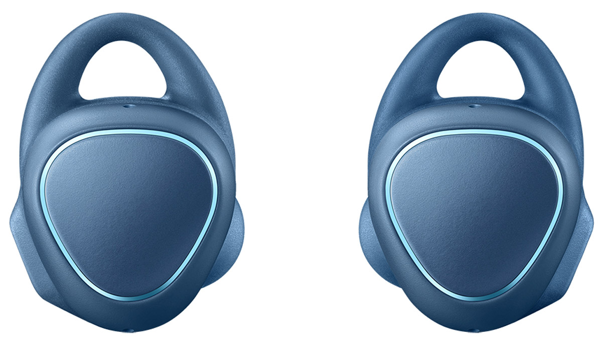 Samsung SM-R150 Gear IconX, Blue беспроводные наушникиSM-R150NZBASERЧто может быть проще! Просто вставьте наушники и вы готовы. Беспроводные фитнес-наушники Samsung Gear IconX позволят вам тренироваться с еще большим комфортом.Эргономичный и лаконичный дизайн обеспечивает комфортную и безопасную фиксацию даже во время самой активной тренировки. Samsung Gear IconX имеют нано-покрытие P2i для защиты от брызг и пота.Беспроводные Bluetooth-наушники освободят вас от забот. Они автоматически распознают начало занятий и информируют о прогрессе. Теперь не нужно брать смартфон с собой: Gear IconX способны самостоятельно отслеживать активность, измерять и сохранять данные о скорости, расстоянии, дистанции, пульсе и потраченных калориях, а также проигрывать музыку.Голосовой помощник сообщит о статусе вашей деятельности, тем самым помогая вам оставаться в оптимальной зоне для максимально эффективной тренировки. Кроме того, вы сможете получать информацию об уровне заряда аккумулятора и получать рекомендации. После синхронизации со смартфоном вся информация будет отображена в приложении S Health.Благодаря режиму Звуковой фон у вас будет возможность оставаться осведомленным о происходящем вокруг и услышать звуки извне, такие как: сигнал автомобиля, крики и т.д., что обеспечивает максимальную безопасность при занятиях на улице.Samsung Gear IconX больше, чем просто фитнес-трекер. Независимо от того - с вами ваш смартфон или нет, - вы можете слушать музыку, записанную в собственную память устройства объемом 4 ГБ (до 1000 песен). Загрузите любимые композиции и наслаждайтесь потрясающим качеством звука. Простое и удобное сенсорное управление, встроенный аккумулятор позволят наслаждаться музыкой на протяжении длительного времени. Другой вариант - прослушивание музыки из памяти смартфона путем синхронизации по Bluetooth.С Samsung Gear IconX вам не придется беспокоиться об уровне заряда аккумулятора. Устройство может воспроизводить музыку в течение нескольких часов на одной зарядке. Хорош