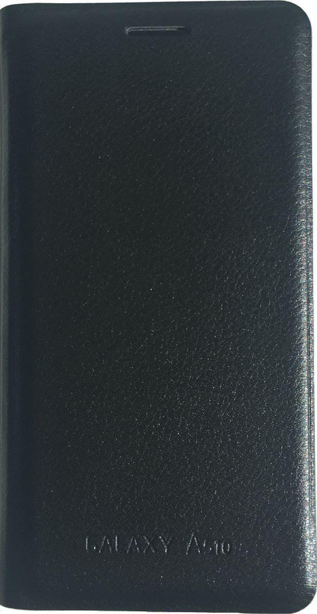 Acqua Wallet Extra чехол для Samsung Galaxy A5, Black53922Чехол-книжка Acqua Wallet Extra для Samsung Galaxy A5 создан из высококачественных материалов. На внутренней стороне чехла имеется карман для пластиковых карт. Чехол надежно защитит ваш телефон от царапин, сколов и незначительных механических повреждений. Он также обеспечивает свободный доступ ко всем функциональным кнопкам смартфона и камере.