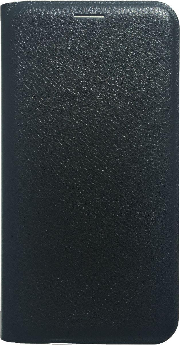 Acqua Wallet Extra чехол для Samsung Galaxy A7, Black53924Чехол-книжка Acqua Wallet Extra для Samsung Galaxy A7 создан из высококачественных материалов. На внутренней стороне чехла имеется карман для пластиковых карт. Чехол надежно защитит ваш телефон от царапин, сколов и незначительных механических повреждений. Он также обеспечивает свободный доступ ко всем функциональным кнопкам смартфона и камере.