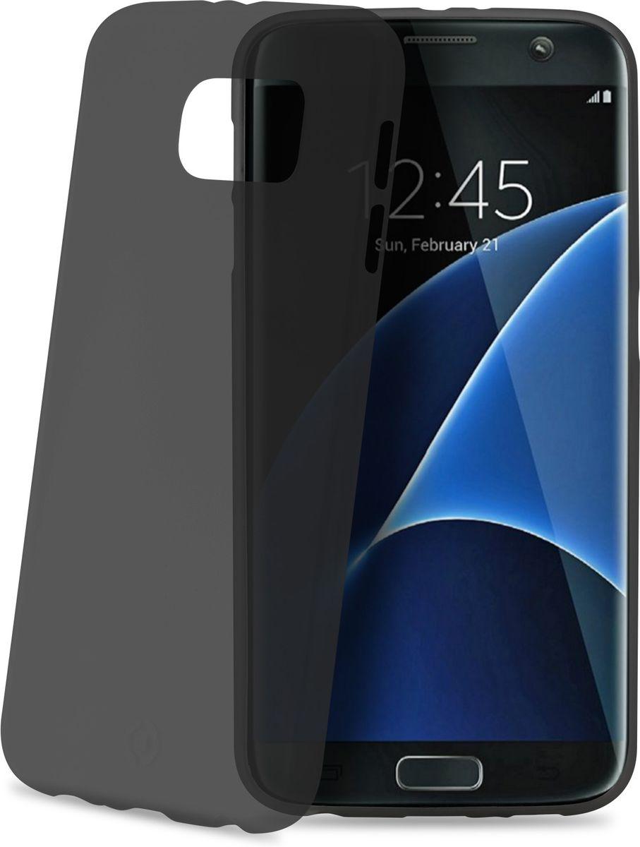 Celly Frost чехол для Samsung Galaxy S7 Edge, GreyFROSTS7EBKМаксимальная защита с минимальной толщиной. Мягкий и тонкий чехол Celly Frost для Samsung Galaxy S7 Edge идеально защитит смартфон от ударов, падений и царапин. Благодаря толщине 0,3 мм он практически не увеличивает размер вашего телефона.
