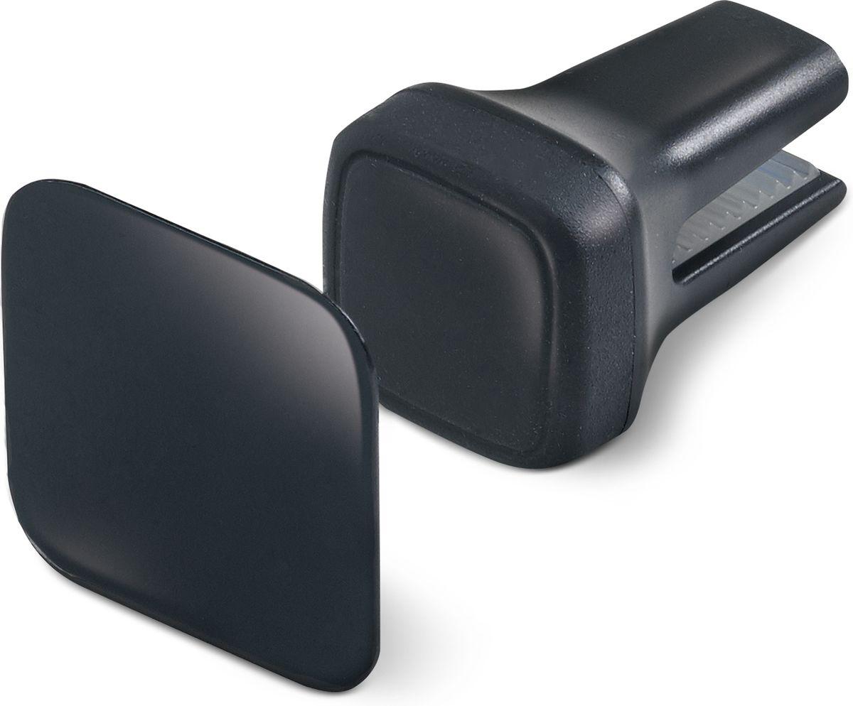 Celly Ghost, Black держатель автомобильный для смартфонаGHOSTУниверсальный автомобильный магнитный держатель Celly Ghost прост в использовании и невидим, крепится на вентиляционные отверстия . В комплекте специальная металлическая пластина с клеевой основой, которая подойдет на любое устройство с гладкой плоской поверхностью, например: смартфоны, GPS-навигаторы, MP3-плееры и т.д. Небольшой размер и резиновая черная отделка придают GHOST элегантный и классический вид.