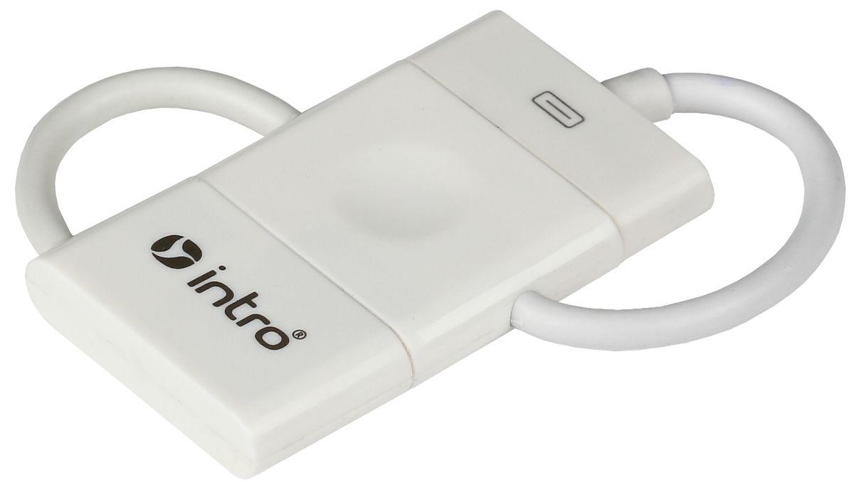 Intro H507Hub connector, White USB-разветвительH507USB-разветвитель Intro H507Hub connector, White имеет компактную конструкцию и дополнительные коннекторы — mini-USB и 30-pin.