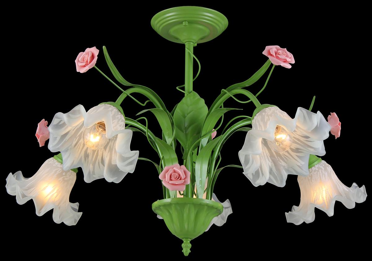 Люстра Natali Kovaltseva Rose 11462/5C GreenROSE 11462/5C GREENВ коллекциях NATALI KOVALTSEVA представлены разные стили – от классики до хайтека. Дизайн и технологическая составляющая продукции разрабатывается в R&D центре компании, который находится в г. Дюссельдорф, Германия. При производстве нашей продукции используются высококачественные и эксклюзивные материалы: хрусталь ASFOR, муранское стекло, перламутр, 24-каратное золото, бронза. Производство светильников соответствует стандарту системы менеджмента качества ISO 9001-2000. На всю продукцию ТМ Natali Kovaltseva распространяется гарантия.