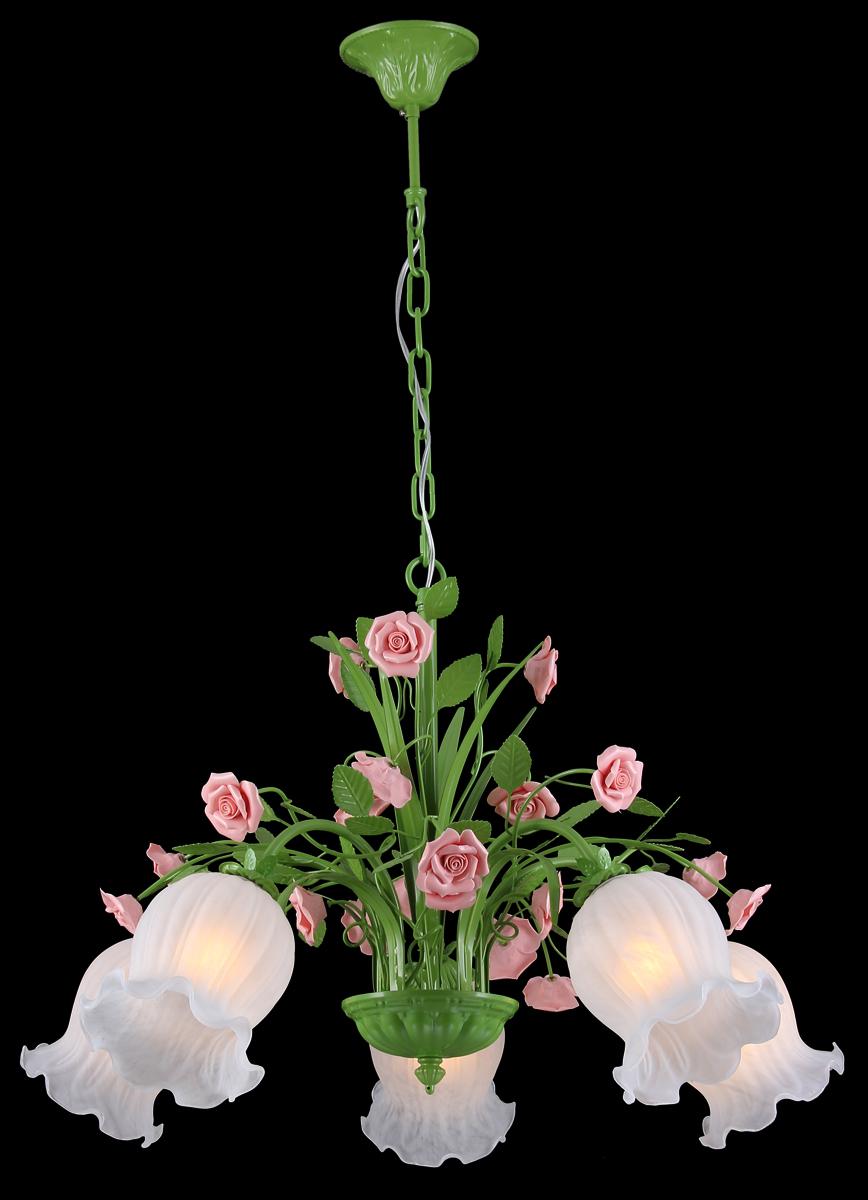 Люстра Natali Kovaltseva Rose 11470/5C GreenROSE 11470/5C GREENВ коллекциях NATALI KOVALTSEVA представлены разные стили – от классики до хайтека. Дизайн и технологическая составляющая продукции разрабатывается в R&D центре компании, который находится в г. Дюссельдорф, Германия. При производстве нашей продукции используются высококачественные и эксклюзивные материалы: хрусталь ASFOR, муранское стекло, перламутр, 24-каратное золото, бронза. Производство светильников соответствует стандарту системы менеджмента качества ISO 9001-2000. На всю продукцию ТМ Natali Kovaltseva распространяется гарантия.