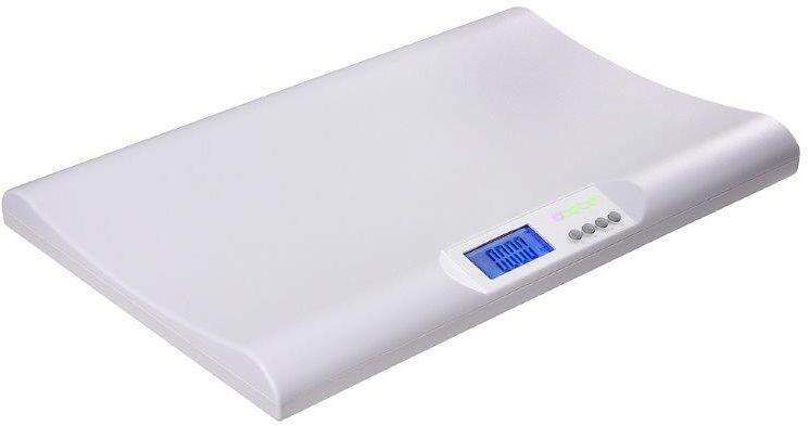 Технические характеристики Кнопка памяти Ультратонкие, с вогнутой платформой Матовая поверхность для предотвращения соскальзывания ребенка Нетоксичные материалы ABS Пересчет килограмм в фунты Жидкокристаллический экран: 69 x 32.5мм Автоматическое выключение Датчик низкого заряда батареи Нагрузка: 0.02-18кг / 1 унция -40фунтов Деление: 5г/ ? унции Питание: батареи 2x AA Размер прибора: 540 x 345 x 57 мм Работает от пальчиковых батареек Весы для взвешивания младенцев БРЕМЕД. Многофункциональные детские весы Bremed BD7760 это идеальный вариант для отслеживания динамичности набора веса младенцем. Модель изготовлена из нетоксичного пластика, имеет очень тонкий размер и специально вогнутую поверхность, для того чтобы удобно было лежать малышу. Чтобы ребенок не соскользнул, пластик покрыт матовым покрытием. Кроме измерения собственно веса и отображении его на жидкокристаллическом дисплее, Bremed BD7760 позволяет сравнить вес перед...