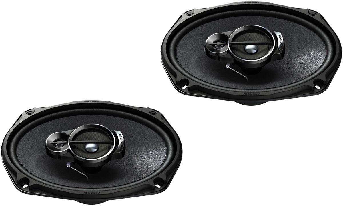 Pioneer TS-A6933I автомобильная акустическая система1024311Автомобильная акустическая система Pioneer TS-A6933I способна воспроизводить звук любой частоты и громкости без малейших помех. Она имеет большую мощность и оснащена динамиками с оптимизированной формой излучателей.Колонки созданы с применением трёхполосной компоновки. Она позволяет сделать максимально чёткими звуки высокой, низкой и средней частоты.Излучатели произведены из многослойного композитного материала Mica Matrix, армированного слюдяными волокнами. За счёт этого удаётся избежать резонанса, а также значительно уменьшить количество помех, вызванных вибрациями и сильными колебаниями.Размер ВЧ динамика: 11 ммРазмер СЧ динамика: 57 ммКоличество полос: 3Материал излучателей: Mica Matrix