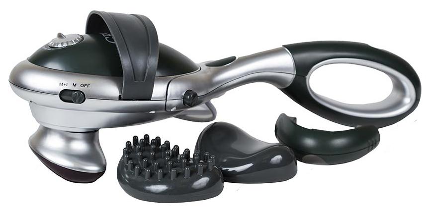 Gess Synergy Duo универсальный массажер для тела. GESS-801GESS-801Массажер для спины, ног и всего тела со съемной удлиняющей ручкой. Сменные насадки для различных видов массажа шеи, плеч,спины и поясницы.* Плавная регулировка интенсивности массажа* 2 режима массажа* Инфракрасный прогрев* Утяжелитель в основании корпуса