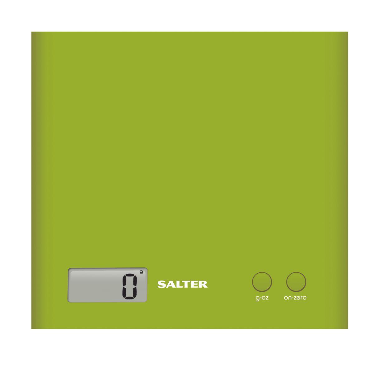 Salter 1066 GNDR кухонные весы1066 GNDRЭлектронные кухонные весы Salter 1066 GNDR.Функция - добавь и взвешивай - позволяет взвешивать различные ингредиенты в одной емкости. Режим переключения между метрической и имперской системой измерения. Компактный, тонкий и современный дизайн.