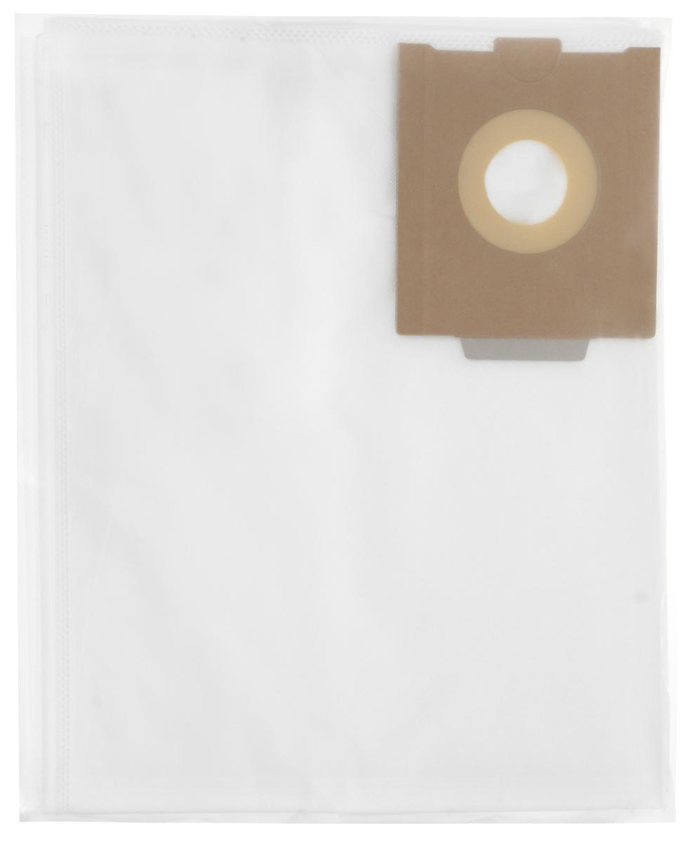 Filtero FST 30 Pro комплект пылесборников для промышленных пылесосов, 5 штFST 30 (5) PrМешки для промышленных пылесосов Filtero FST 30 Pro, трехслойные, произведены из синтетического микроволокна MicroFib. Прочность синтетических мешков Filtero FST 30 Pro превосходит любые бумажные мешки-аналоги, даже если это оригинальные бумажные мешки всемирно известных марок. Вы можете быть уверены: заклепки, гвозди, шурупы, битое стекло, острые камни и прочее не смогут прорвать мешки Filtero Pro. Мешки Filtero Pro не боятся влаги, и даже вода, попавшая в мешок, не помешает вам произвести качественную уборку! Мешки Filtero Pro предназначены для уборки пыли класса М.Подходят для следующих моделей пылесосов:FESTOOL:CTH 26CTM 26CTL 26CTH 36CTM 36CTL 36
