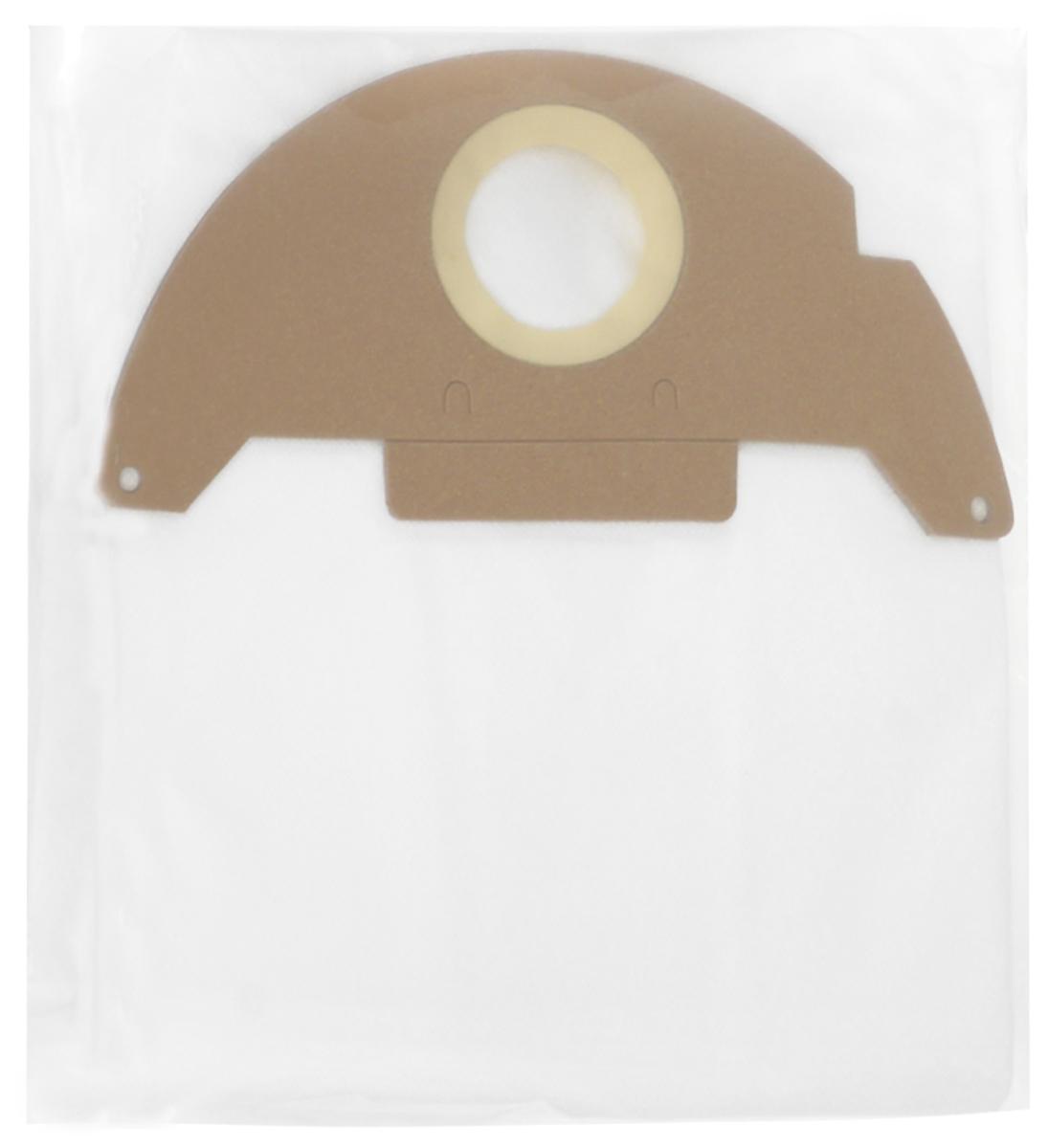 Filtero KAR 10 Pro комплект пылесборников для промышленных пылесосов, 4 штKAR 10 (4) ProМешки для промышленных пылесосов Filtero KAR 10 Pro, трехслойные, произведены из синтетического микроволокна MicroFib. Прочность синтетических мешков Filtero KAR 10 Pro превосходит любые бумажные мешки-аналоги, даже если это оригинальные бумажные мешки всемирно известных марок. Вы можете быть уверены: заклепки, гвозди, шурупы, битое стекло, острые камни и прочее не смогут прорвать мешки Filtero Pro. Мешки Filtero Pro не боятся влаги, и даже вода, попавшая в мешок, не помешает вам произвести качественную уборку! Мешки Filtero Pro предназначены для уборки пыли класса М.Подходят для следующих моделей пылесосов:Karcher:250126013001A 2120NT 181 ProSE 2001SE 3001SE 5.100SE 6.100